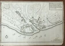 DE FER FORTIFICATIONS PLAN DE BLAYE C. 1690