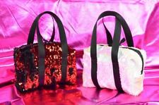 Flip mermaid reversible sequin mini small purse bag tote duffle two-toned