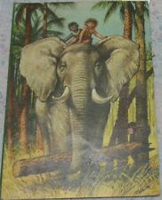 Jungle 3D Book Carton Fairy Tales Child Kid Animal Mowgli Elephant Leon Tiger Ol