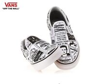 Vans ASHLEY WILLIAMS X Slip-On Newspaper Fashion Sneakers,Shoes Men's