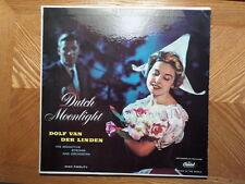 CAPITOL DG  LP RECORD MONO T10070/DOLF VAN DER LINDEN /DUTCH MOONLIGHT/ EX