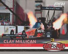 2018 Clay Millican Race Parts Solutions Top Fuel PRI Show NHRA postcard