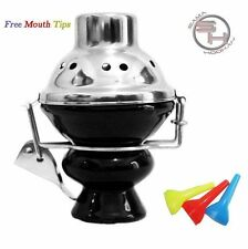 New Black Hookah Wind Cover Ceramic Bowl Shisha Head Charcoal Metal Screen Huka