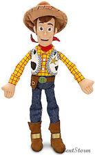 "NEW 12"" Disney Store Pixar Toy Story Cowboy Woody Mini Bean Bag Plush Doll"