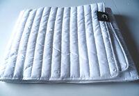 Matratzenauflage Webschatz 100x200 cm.Microfaser Nano Ultrafill mit Eckspanngumm