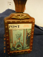 Jim Beam Bicentennial Whiskey Decanter Norman Rockwell Saturday Evening Post '76