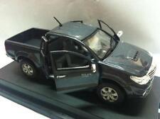 Toyota Hilux VIGO CHAMP Model 1:43 Dark Gray Mica Metallic Color Free Shipping