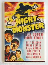 Night Monster FRIDGE MAGNET (2.5 x 3.5 inches) movie poster bela lugosi