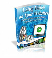 Use VIDEO ON YOUR WEBSITES And Make More Money With Easy Website Promotion (CD)