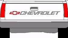 CHEVROLET SS Tailgate Truck Lettering 350 400 454 1500 Sticker Vinyl Decal