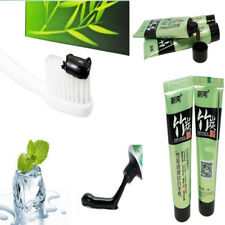 15g Toothpaste Natural Active Charcoal Teeth Care Whitening Bamboo Fit Travel