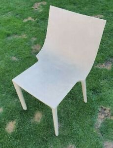 1 x DRIADE BO Philippe Starck dining garden chair powder beige showroom model