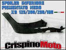 SPOILER INFERIORE PIGMENTATO NERO PIAGGIO  X9 EVOLUTION 125/200/250/500 2003/07