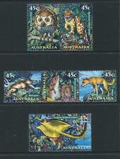 AUSTRALIA 1997 Nocturnal Animals Set MNH (SG 1713a,1715a,1718)