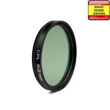 Filtro Circular Polarizer CPL 52mm Canon Nikon Sony Olympus Pentax