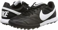Nike Premier II TF Turf Soccer Shoes Men's Size 9.5 - Black White
