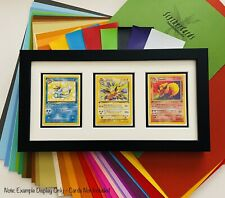 Custom Made-to-Order Pokemon Card Framed Display: Cards Not Included