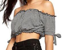 Unbranded Short Sleeve Boho Tops for Women