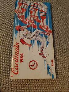1984 St. Louis Cardinals Media Guide