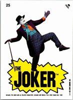 1989 Topps Batman The Movie 2nd Series Sticker Card #25
