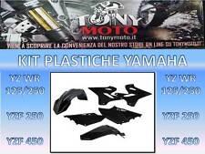 KIT PLASTICHE YAMAHA YZ 125 250 2015 2016 2017 0017874.090 ACERBIS COLORE NERO