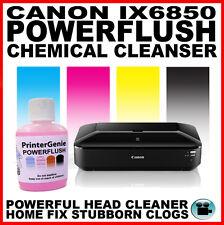 Canon IX6850: Testina per pulizia - Ugello Detergente: Streaky Stampa fissare -