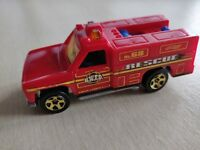 1/64 hot wheels 1974 fire truck rescue