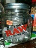 """4X RAW Rolling Papers """"California Roor / CONE BRO"""" Glass Tip Cigarette Holders"""