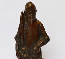 Bronzeskulptur Bronze Skulptur Ritter wohl um 1920 Art Deco H. 29 cm 1830 g