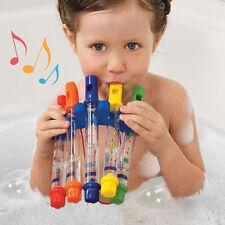 New Kids Children Summer Bathing Shower Playing Bath Tub Water Flute Music Toy