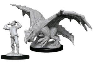 Dungeons & Dragons - Nolzur s Marvelous Unpainted Minis: Green Dragon Wyrmlin...