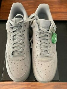Nike Air Force 1 Euro Exclusive  BQ4329-001 - Wolf Grey - Size 10 - New with Box
