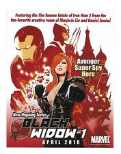 2010 Black Widow Comic #1 Marvel Promo Card