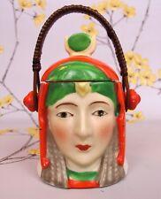 Vintage Diosa Egipcia/Farrow miel mermelada preservar Mermelada Pote Tarro. Japón.