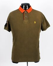 Rare - POLO RALPH LAUREN - R.L Canoe Kayak Club - Green Orange - M Medium