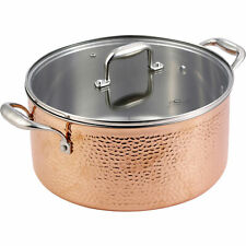 Bergner BGIC-3664 Infinity Chefs De Lux 20 cm Copper Tri-Ply Casserole Pot