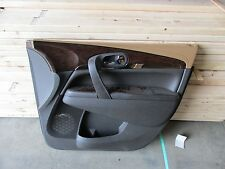 2015 BUICK ENCLAVE OEM FRH PASS DOOR PANEL SKIN TRIM COVER CHOCO/COCO BOSE