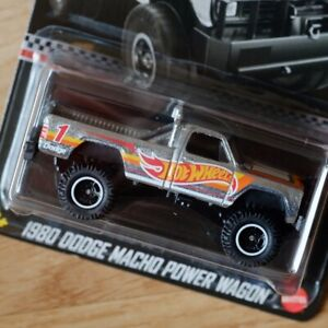 ZAMAC 2021 Hot Wheels Collector Edition 1980 DODGE MACHO POWER WAGON GTD70-K910