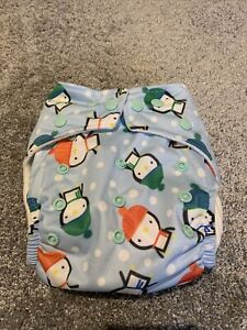 Baba And Boo Penguin Btp Nappy - Brand New