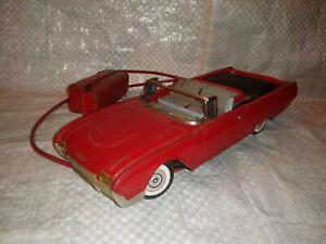 Vintage Cragstan Ford Thunderbird JAPAN Remote Control Convertible Pressed Metal