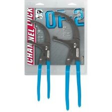 """Channellock OF-2 2 PC. OIL FILTER PLIER  SET 9"""" and 12"""" Pliers"""