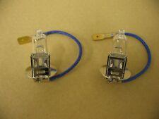 Pair of 12volt H3 Halogen 100W spot light / lamp bulbs EB483, LLB483