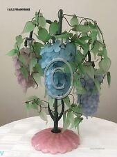 MURANO WISTERIA Glass Beaded Flower Shade Chandelier Lamp Like Grape Cluster