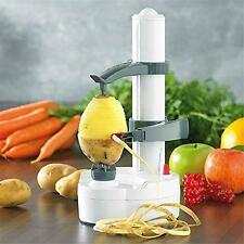 Electric Easy Peeler Machine, Fruit Vegetable Potato Apple Peeling Cutter Slicer