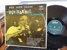 LP PEE WEE HUNT & HIS ORCHESTRA DIXIELAND CLASSICS CAPITOL T-573 IMPORT VG++