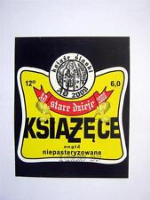 Print. Polish Beer Label - KSIAZECE