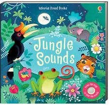 Usborne Sound Books Jungle Sounds (bb) by Sam Taplin with sound button NEW