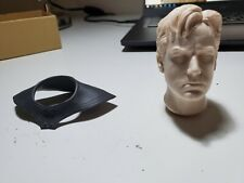1/6 Custom Batman Ben Affleck Head BvS MMS342 Hot Toys Joker Justice League
