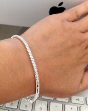 Genuine 925 Sterling Silver Bangle Bracelet  Bridesmaid GIFT Jewellery FREE BOX