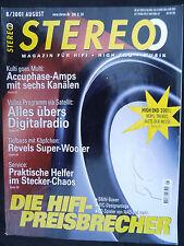 STEREO 8/01  VISATON VOX 252,JM LAB COBALT 816,ACCUPHASE CX 260,PX 600,NAD C 541